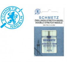 Needles SCHMETZ for stretch, twin, 130/705H-S, 4mm, 5x90