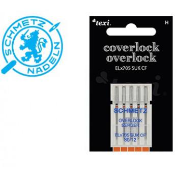 Needles SCHMETZ for overlock, ELx705 SUK CF, 5x80