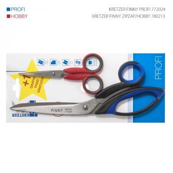 Scissors for tailors KRETZER set, 24cm+13cm