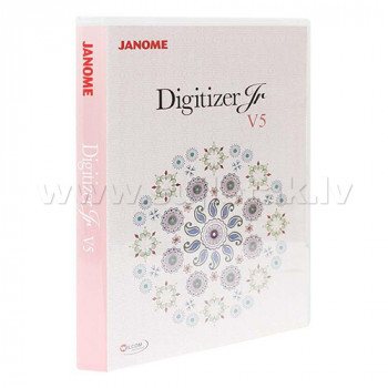 Embroidery software Janome Digitizer JR v5.0