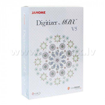 Embroidery software Janome Digitizer MBX v5.0